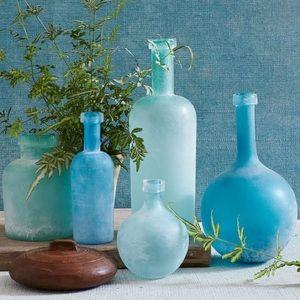 Waterscape Sea Glass Vase